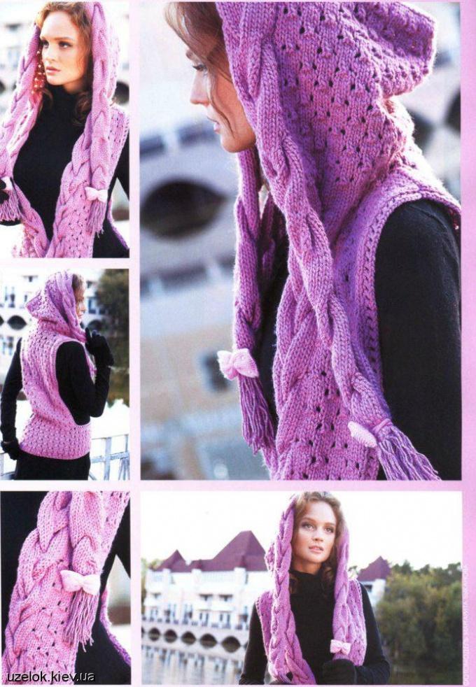 Выбираем капюшон-шарф для своего гардероба