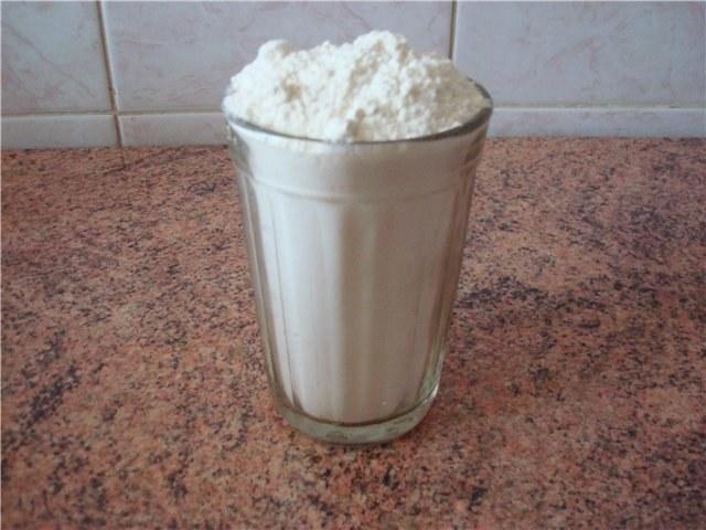 Сколько стаканов в килограмме муки