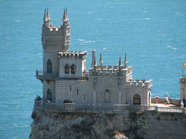 Getting to the Swallow's nest in Crimea