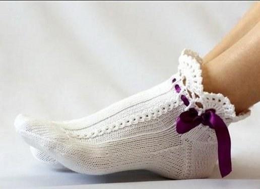 Белые носочки