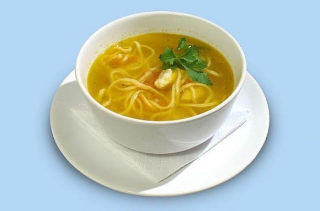 Как приготовить суп с домашней лапшой