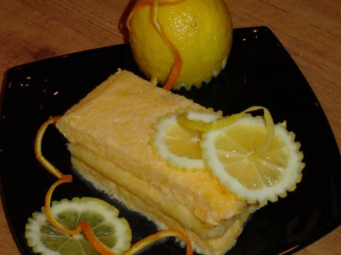 Готовим лимонное семифредо
