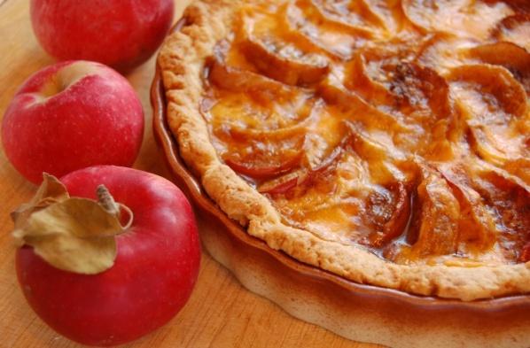 Как приготовить яблочную кростату с сыром