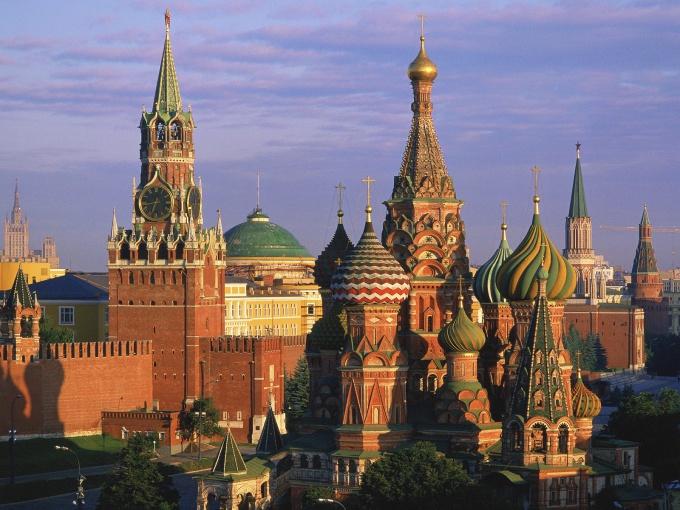 Кремль - древнейшая часть Москвы