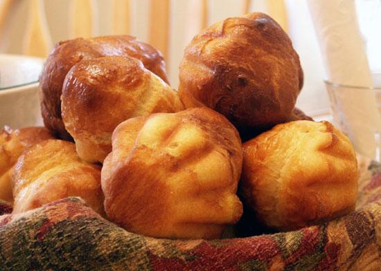 Французские бриоши к завтраку