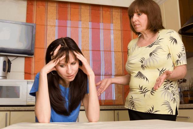 Конфликт между матерью и дочерью - частое явление