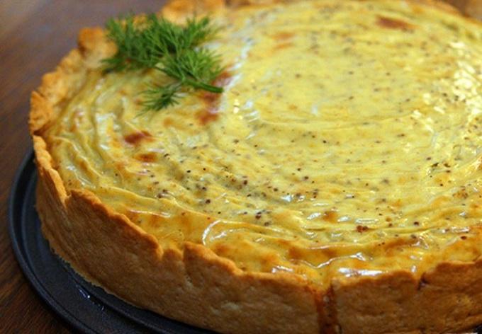 Горчичный пирог