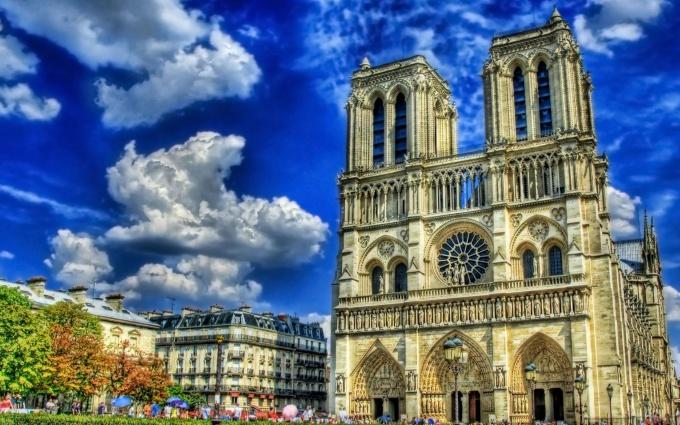 Собор Парижской Богоматери фото
