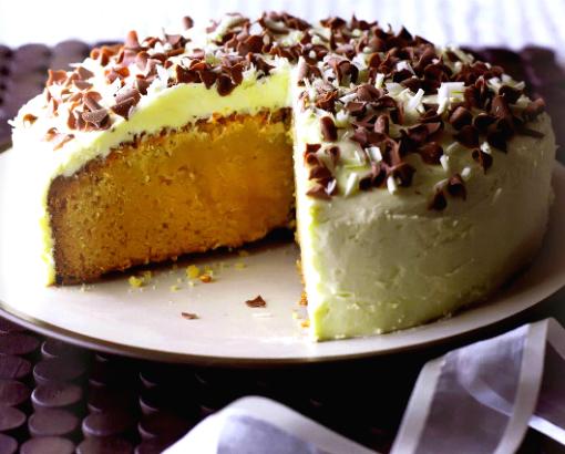 Белоснежный торт «Миссисипи»