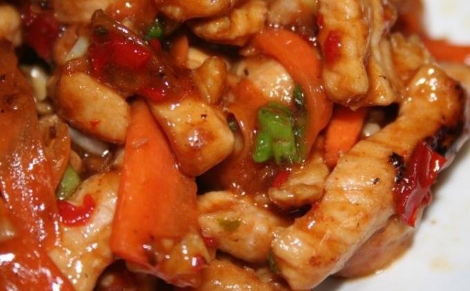 Вкусная свинина по-китайски