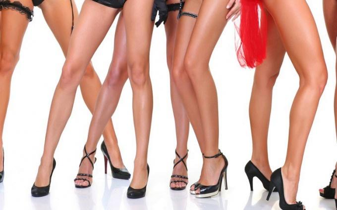 Как сделать кожу ног красивой