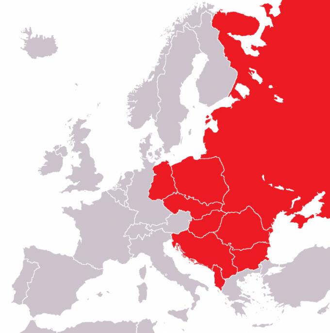 Какие из стран первоначально вошли в состав ОВД