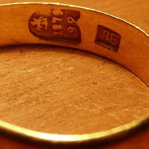 Какие есть старинные пробы серебра и золота