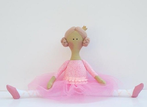 How to sew a Tilda doll Ballerina