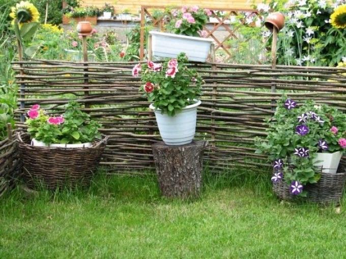 Как украсить участок на даче летом