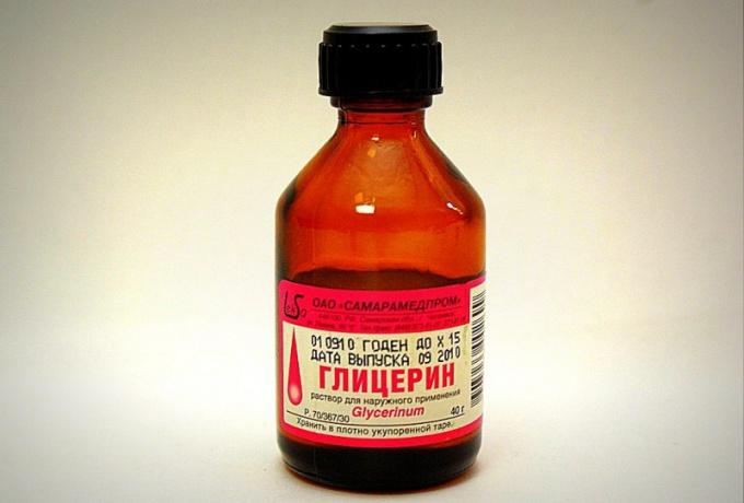 Для использования в лечебных целях следует применять только медицинский «Глицерин» высокой степени очистки
