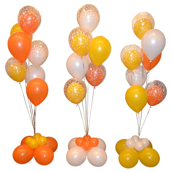 Фонтан из воздушных шаров: просто и со вкусом