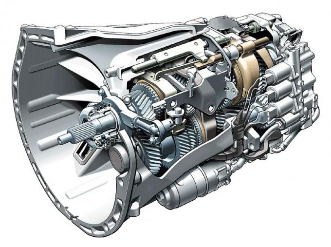 АКПП представляет собой сложную гидромеханическую систему