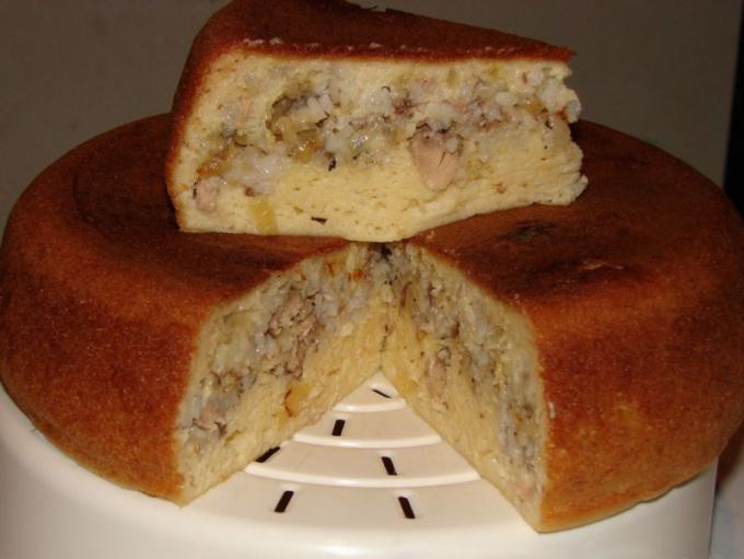 Пирог с консервой в мультиварке рецепты