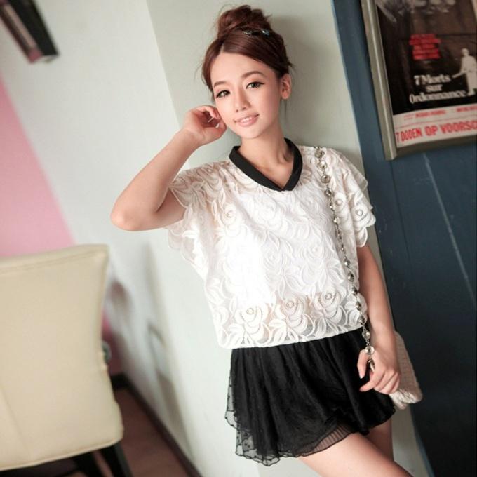 Transparent blouse