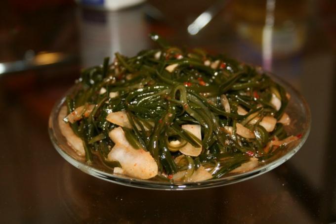 Что дозволено приготовить из морской капусты