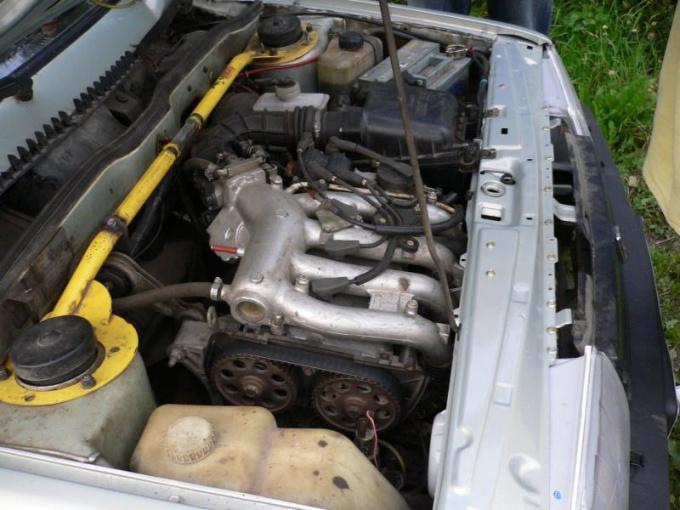 Двигатель ВАЗ 2112 на девятке