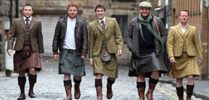 В каких странах мужчины традиционно носят юбки