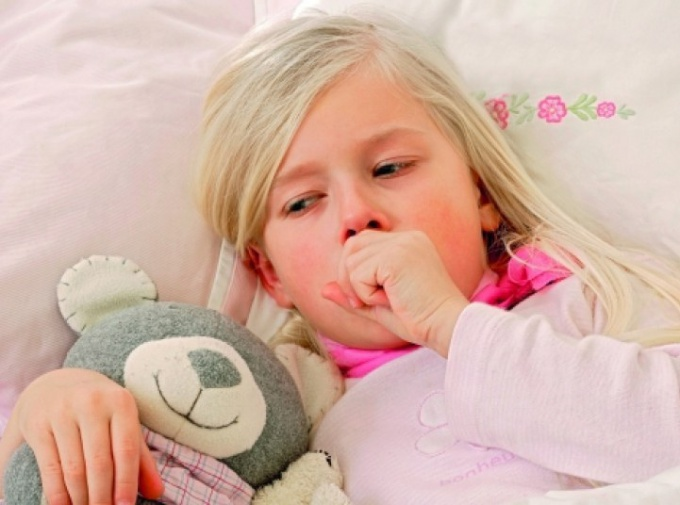 Cough without fever in a child is a characteristic symptom of many diseases