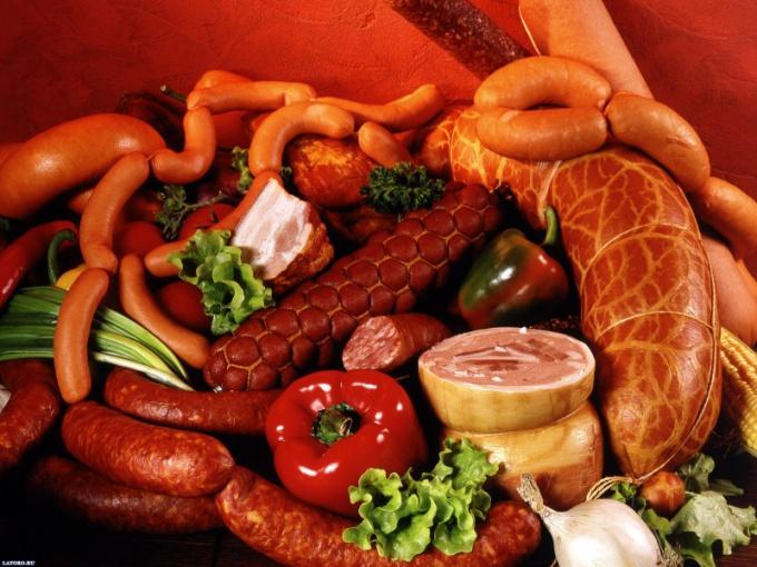 Сколько калорий в колбасе