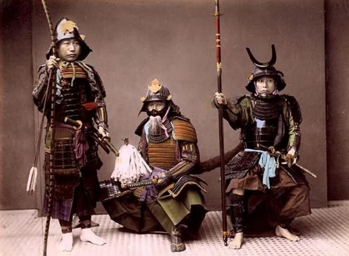 Самураи Японии на военной службе