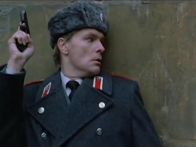 Олег Видов в американском фильме «Красная жара»