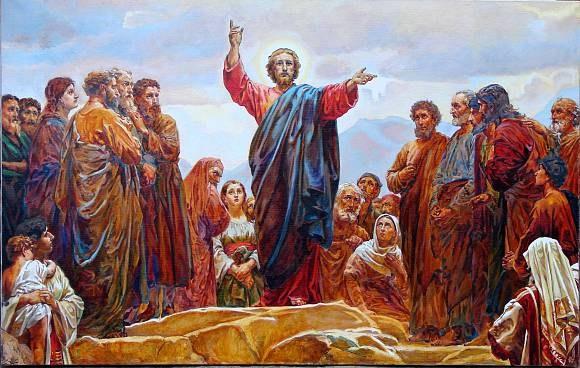 Нагорная проповедь Иисуса Христа - источник крылатой фразы
