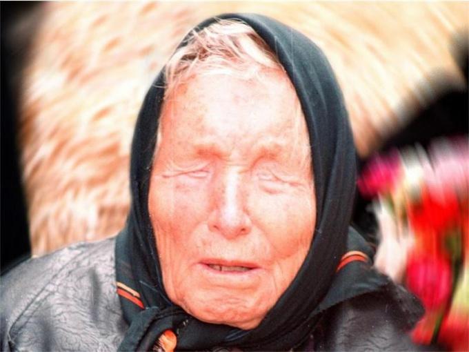 Болгарская прорицательница Ванга