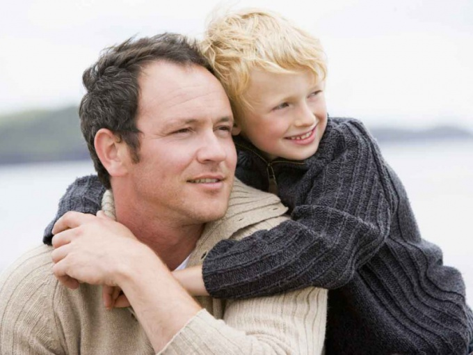 What rights has a stepfather in relation to the child