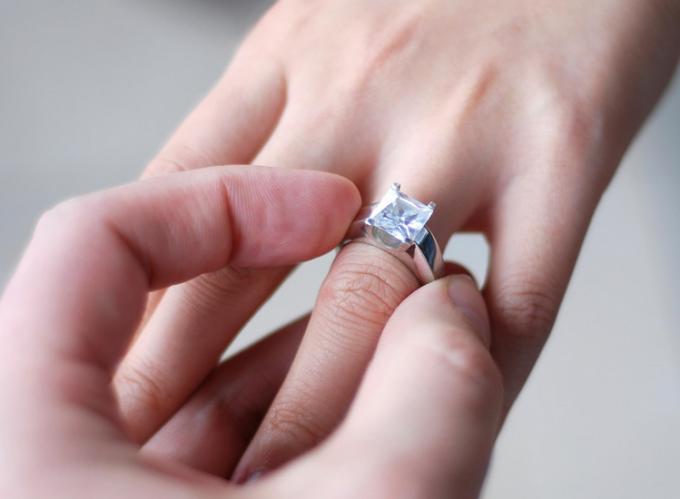 Как узнать размер пальца девушки