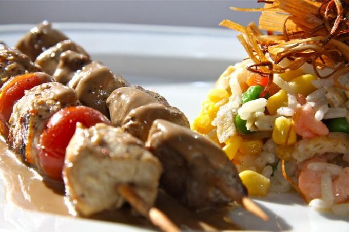Картофельный люля-кебаб - вкусное блюдо в пост