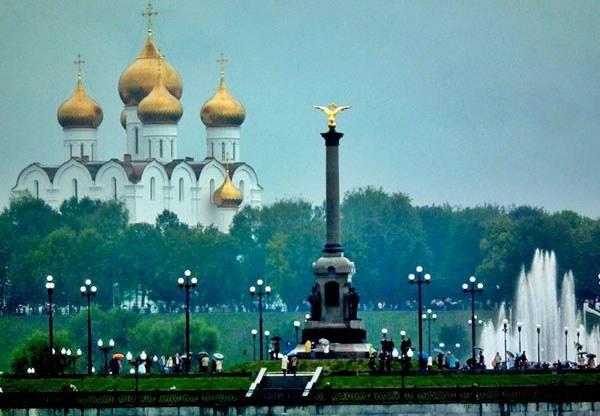 Вид на Ярославль
