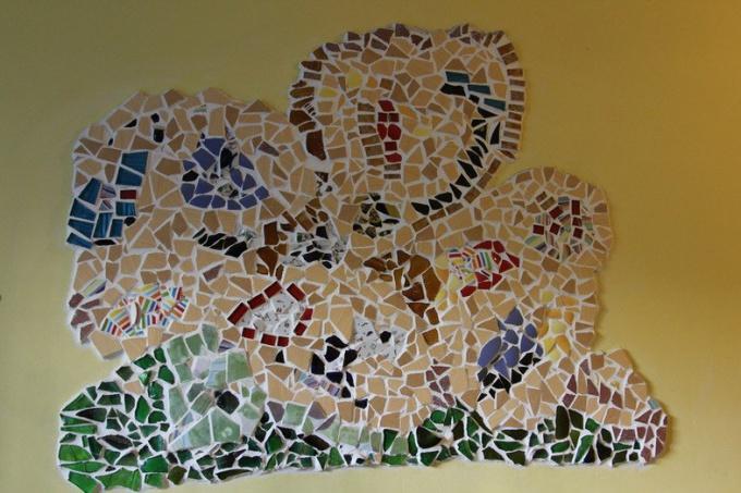 С помощью панно из плитки можно украсить любое помещение