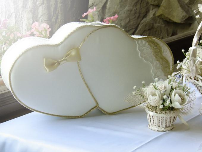Денежный сундучок для свадьбы