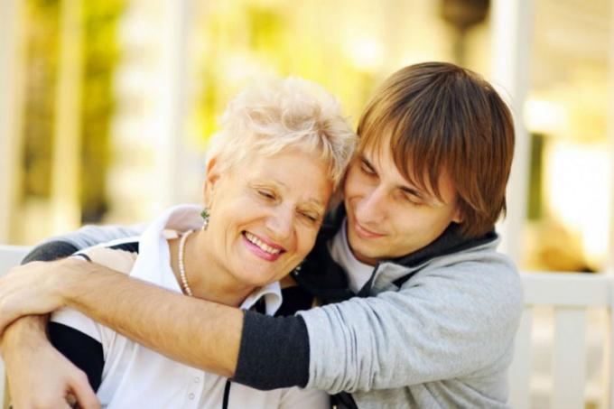 Любовь матери к сыну