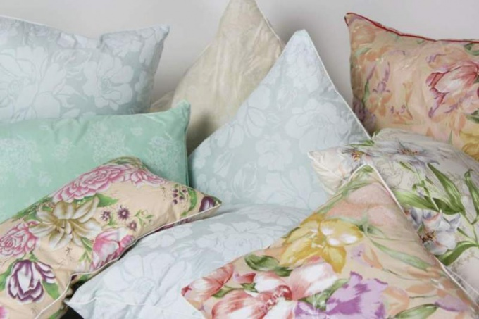 How to make feather pillow