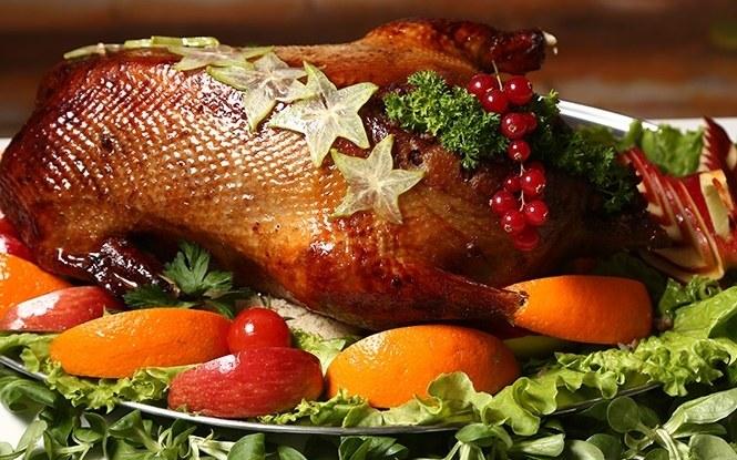 Запеченный в духовке гусь может стать гвоздем праздничного стола