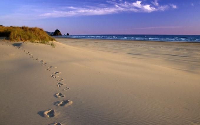 пляж Юрмалы фото