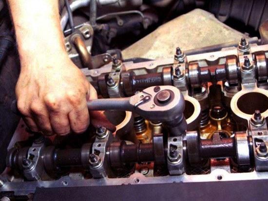 Двигатель на капитальном ремонте
