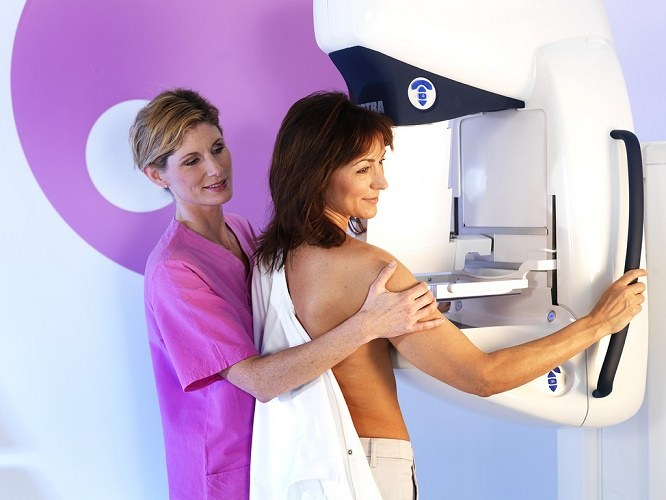 Обследование молочных желез маммография