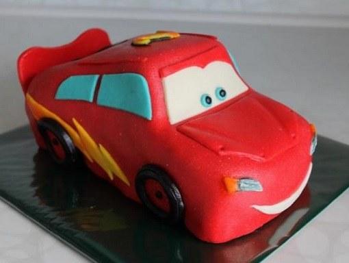 Машина из мастики для торта