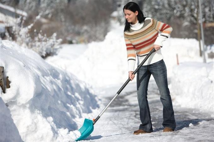 Правильная чистка снега может стать удовольствием, а не повинностью