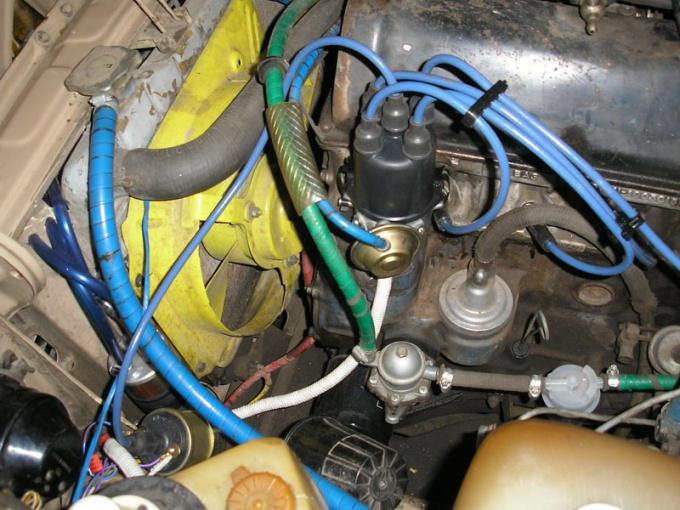 Ignition system VAZ 2107