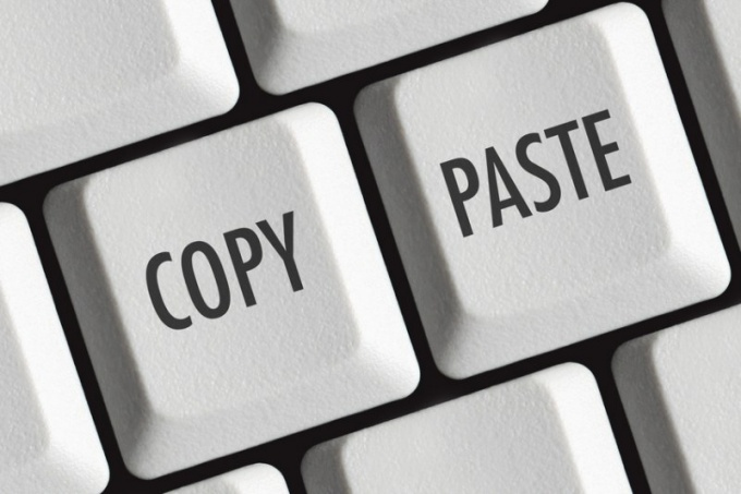Как делать копирование и вставку в Андроиде