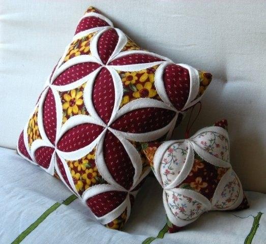 Какую пошить необычную диванную подушку